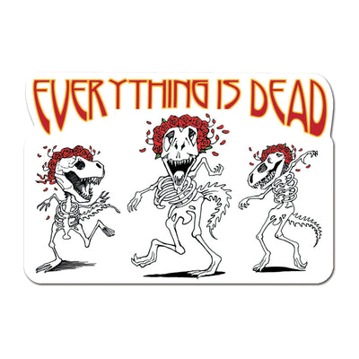 Everything is Dead Decal | Field Museum Store