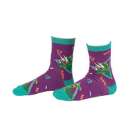 Jurassic Party Junior Crew Socks | Field Museum Store