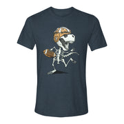 Dancing Dino Football Adult T-shirt | Field Museum Store