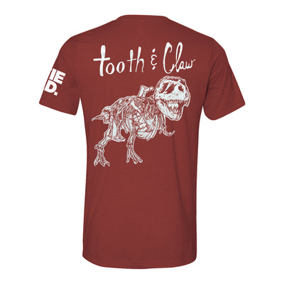Tooth & Claw Adult T-shirt | Field Museum Store
