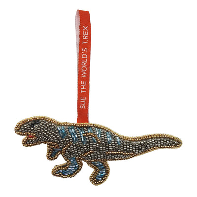 SUE the T. rex Beaded Ornament | Field Museum Store