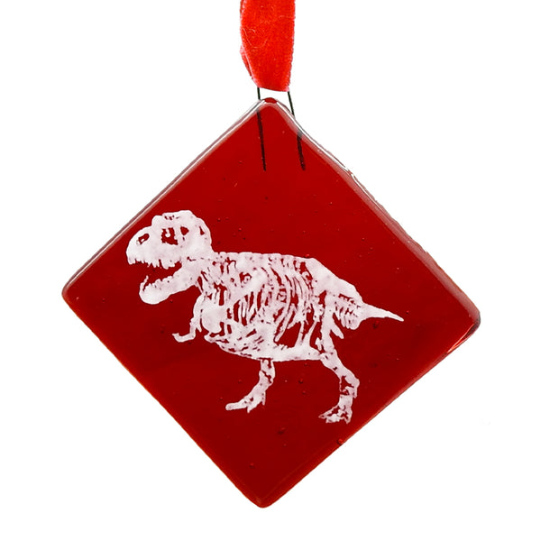 SUE the T. rex Glass Ornament | Field Museum Store