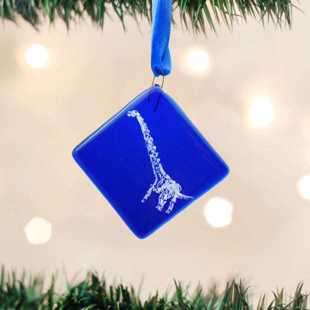 Máximo the Titanosaur Glass Ornament | Field Museum Store