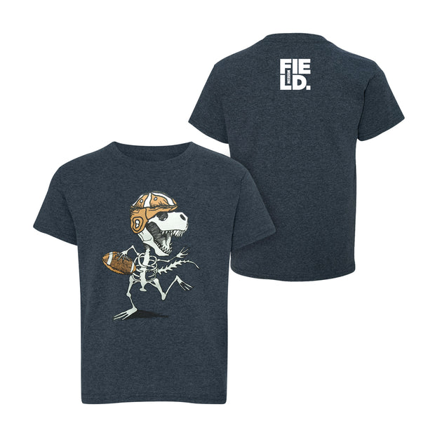 Dancing Dino Football Youth T-shirt | Field Museum Store