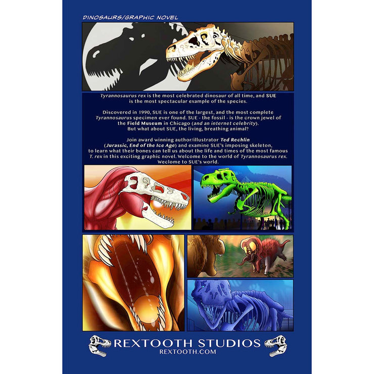 SUE: Welcome to the World of Tyrannosaurus Rex - Author Signed | Field Museum Store