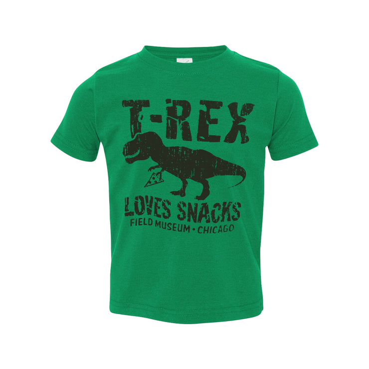 T. rex Loves Snacks Toddler T-Shirt | Field Museum Store