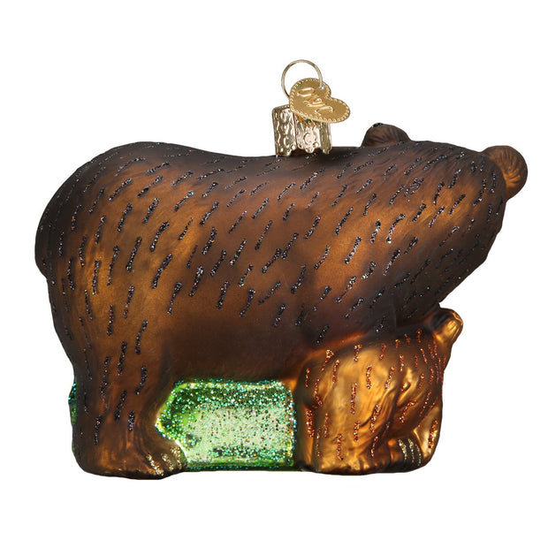 Bear with Cubs Ornament | Field Museum Store