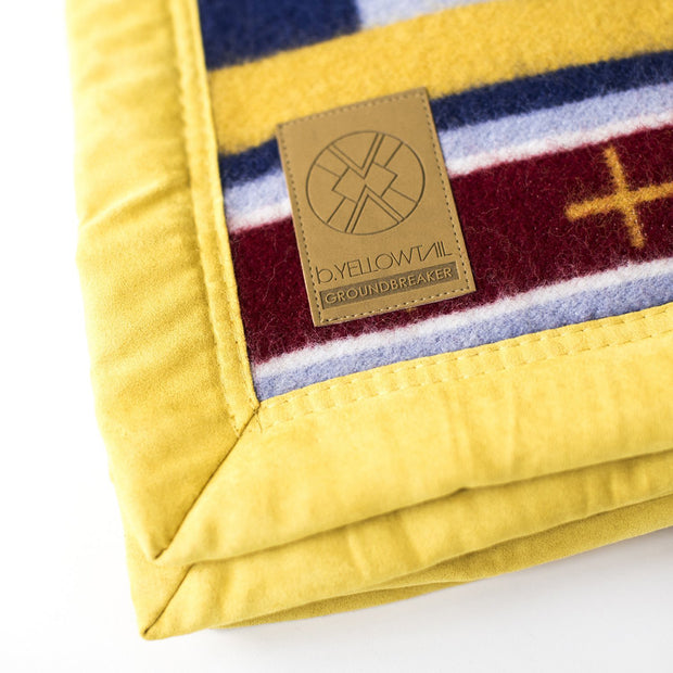 """All My Relations"" Wool Blanket by Bethany Yellowtail 