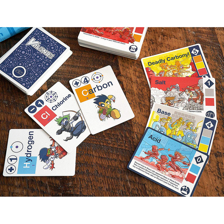 Science Ninjas: Valence Card Game | Field Museum Store
