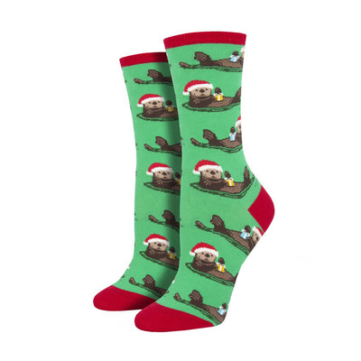 Otterly Merry Crew Socks | Field Museum Store