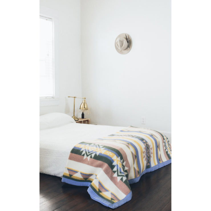 """Faith"" Wool Blanket by Bethany Yellowtail 