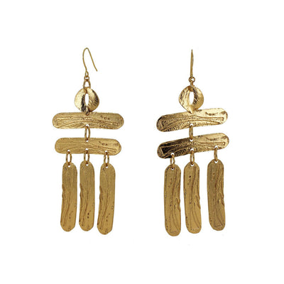 Lingua Nigra Building a Ladder Earrings | Field Museum Store
