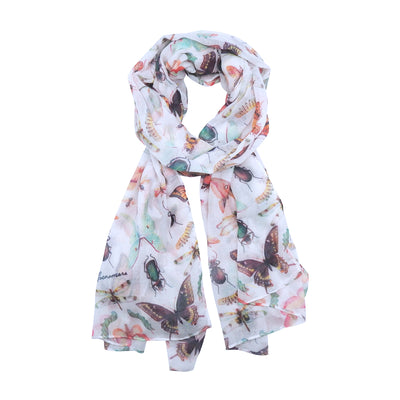 Peggy Macnamara Insect Scarf | Field Museum Store