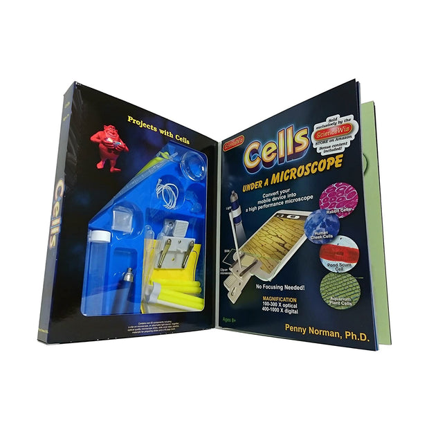 Cells Under a Microscope Activity Kit | Field Museum Store