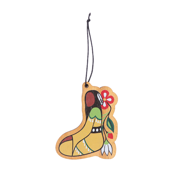 Her Jingle Dress Wood Ornament | Field Museum Store
