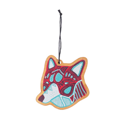 Wolf Wood Ornament | Field Museum Store