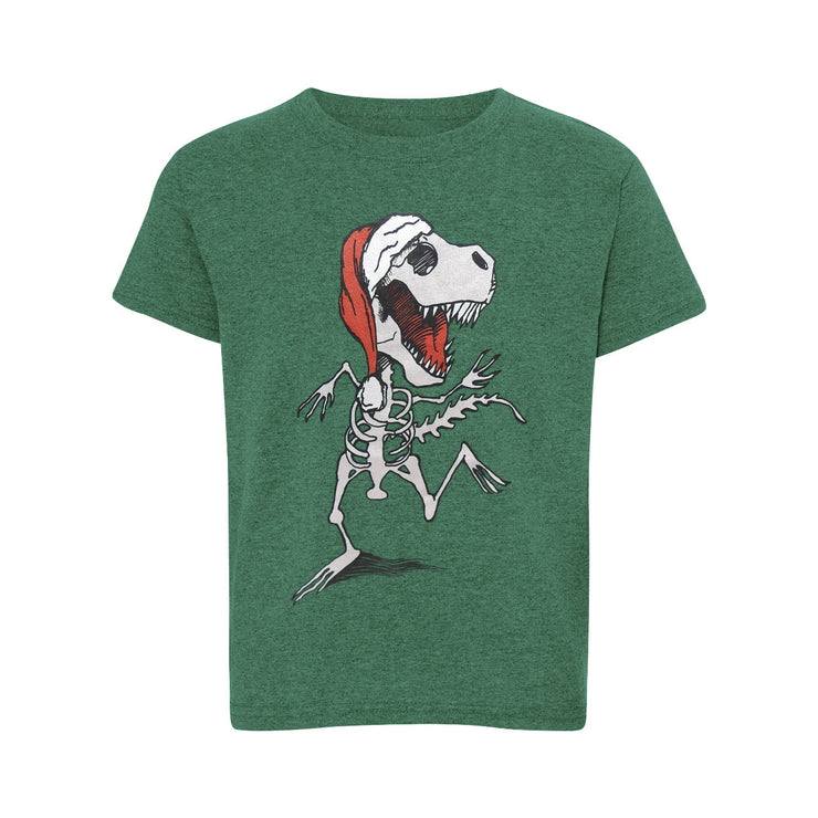 Dancing Dino Santa Youth T-Shirt | Field Museum Store