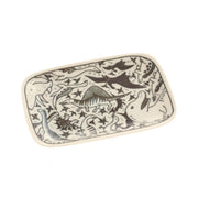 Small Dinosaur Rectangle Plate