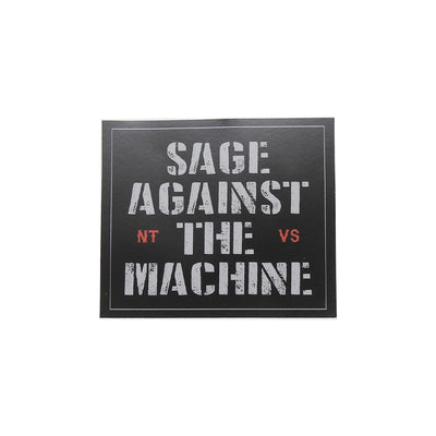 Sage Against the Machine Sticker | Field Museum Store