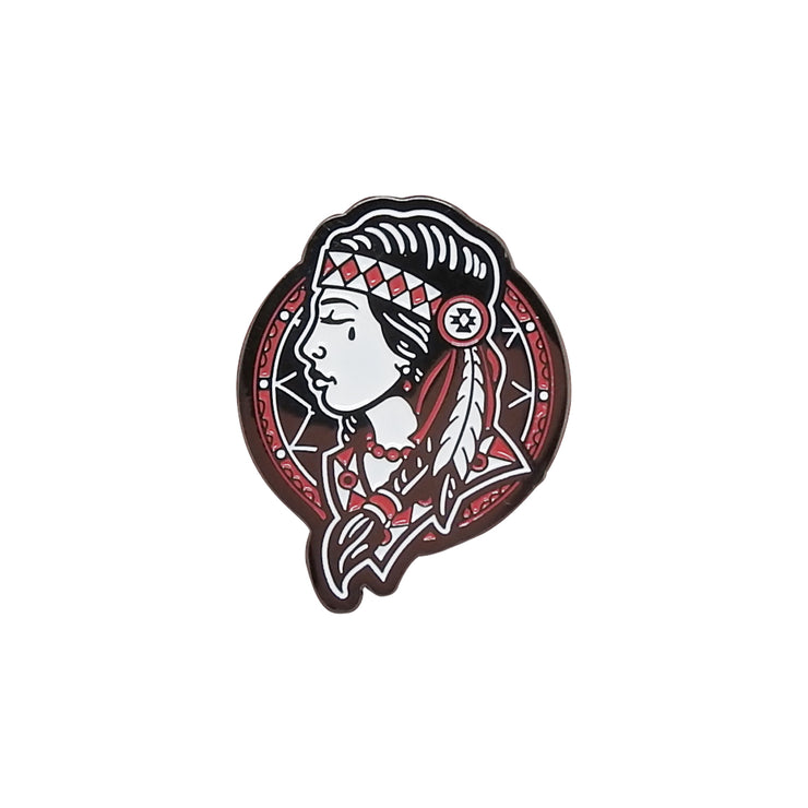 Native Woman Lapel Pin | Field Museum Store