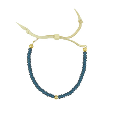 Native Works Blue Glass Bead Bracelet | Field Museum Store