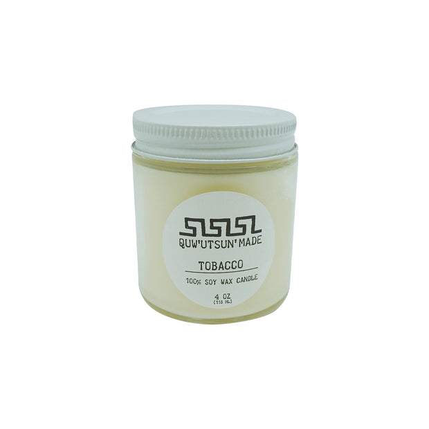 Tobacco Soy Wax Candle | Field Museum Store
