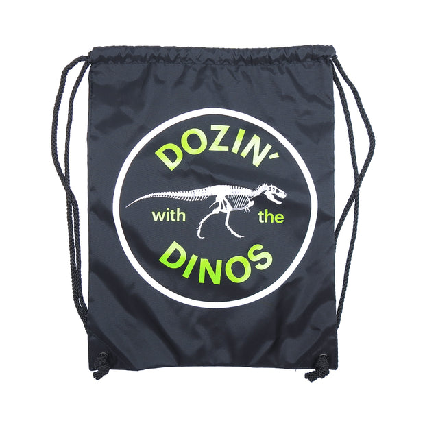 Dozin' with the Dinos Drawstring Bag | Field Museum Store