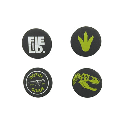 Dozin' with the Dinos Button Set | Field Museum Store