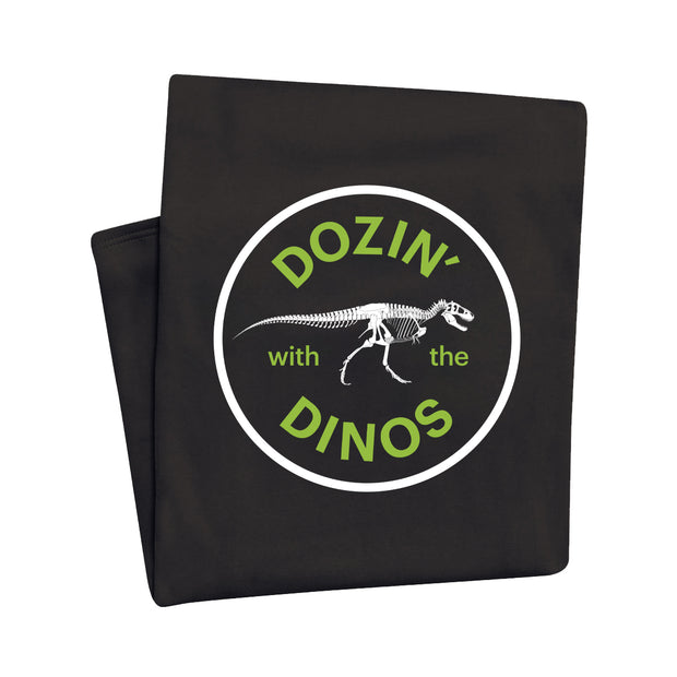 Dozin' with the Dinos Sweatshirt Throw Blanket | Field Museum Store