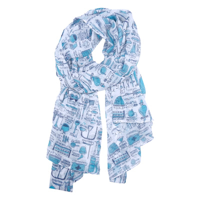 Lab Equipment Scarf | Field Museum Store