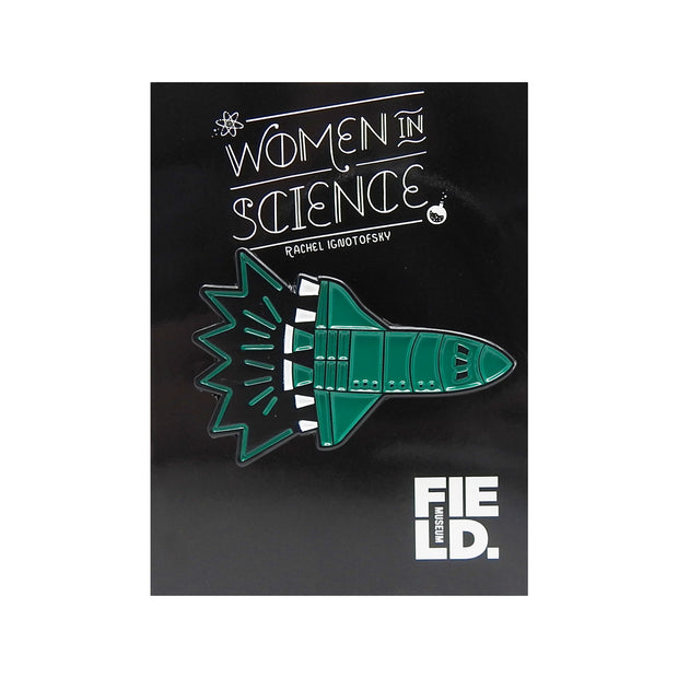 Astro Shuttle Lapel Pin | Field Museum Store