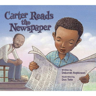 Carter Reads the Newspaper | Field Museum Store