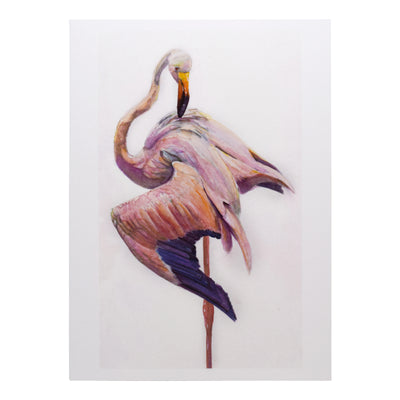 Peggy Macnamara Flamingo Greeting Card | Field Museum Store