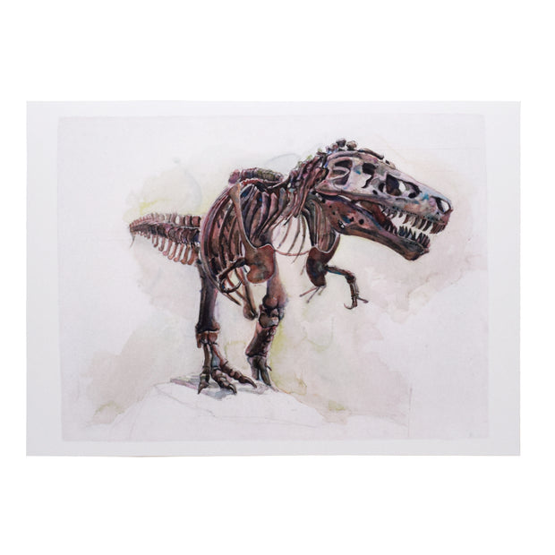 Peggy Macnamara SUE the T. rex Greeting Card | Field Museum Store