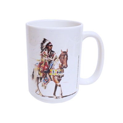"""Motion in Red"" Mug by Del Curfman 