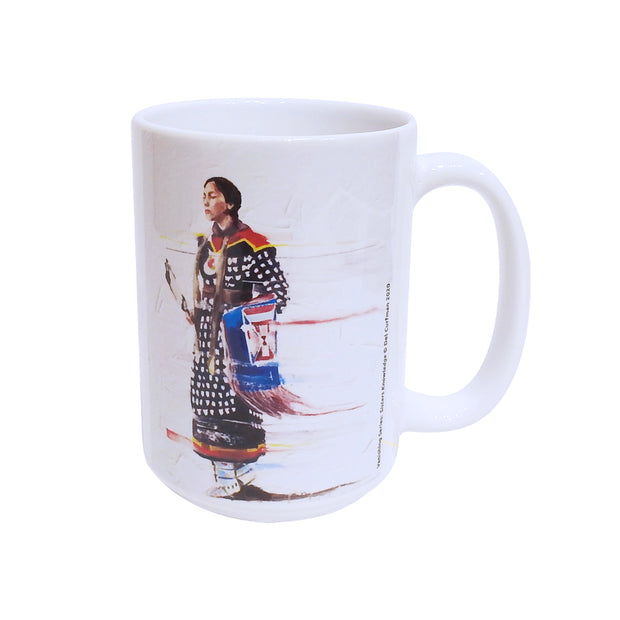 """Sisters Knowledge"" Mug by Del Curfman 