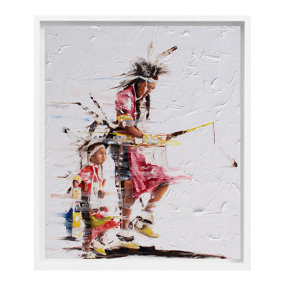 """Brothers"" Painting by Del Curfman 
