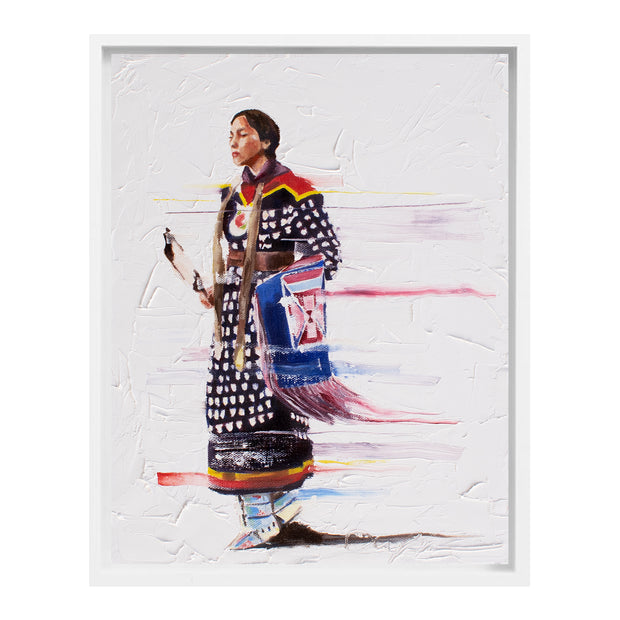 """Sisters Knowledge"" Painting by Del Curfman 