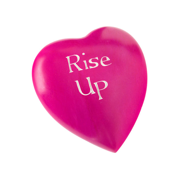 Rise Up Soapstone Heart | Field Museum Store