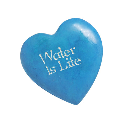 Water is Life Soapstone Heart | Field Museum Store