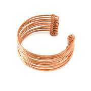 Small Stacked Copper Cuff Bracelet | Field Museum Store