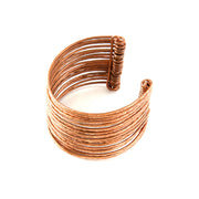 Large Stacked Copper Cuff Bracelet | Field Museum Store