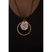 Copper & Silver Disc Necklace | Field Museum Store