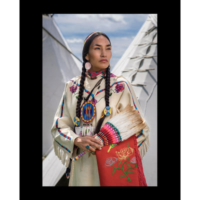"""Lakisha Flores"" Print by Adam Sings in the Timber 