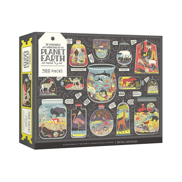 The Wondrous Workings of Planet Earth Puzzle | Field Museum Store