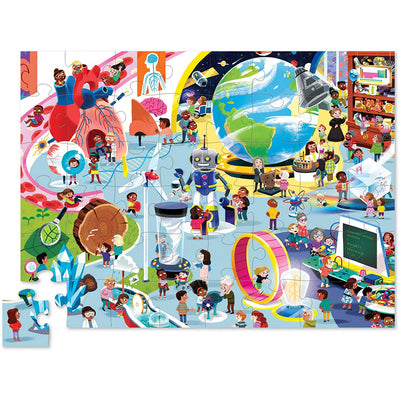 Day at the Science Museum 48 Piece Puzzle | Field Museum Store