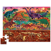 Dinosaur Above & Below 48 Piece Puzzle | Field Museum Store