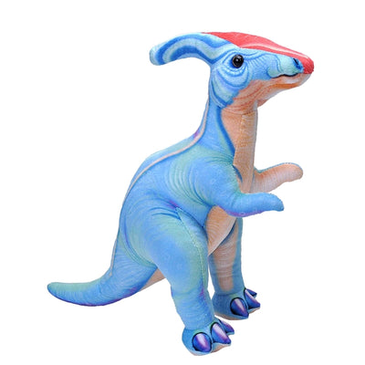 Bright Colored Parasaurolophus Plush | Field Museum Store