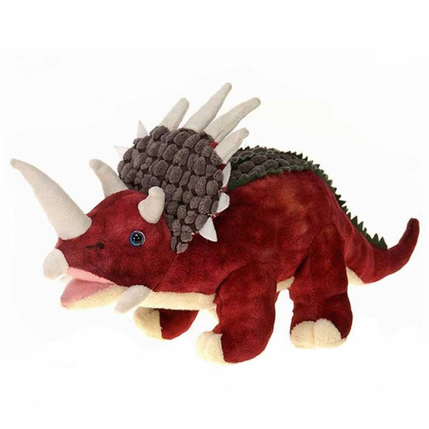 Jumbo Triceratops Plush with Sound | Field Museum Store