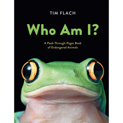 Who Am I?: A Peek-Through-Pages Book of Endangered Animal | Field Museum Store